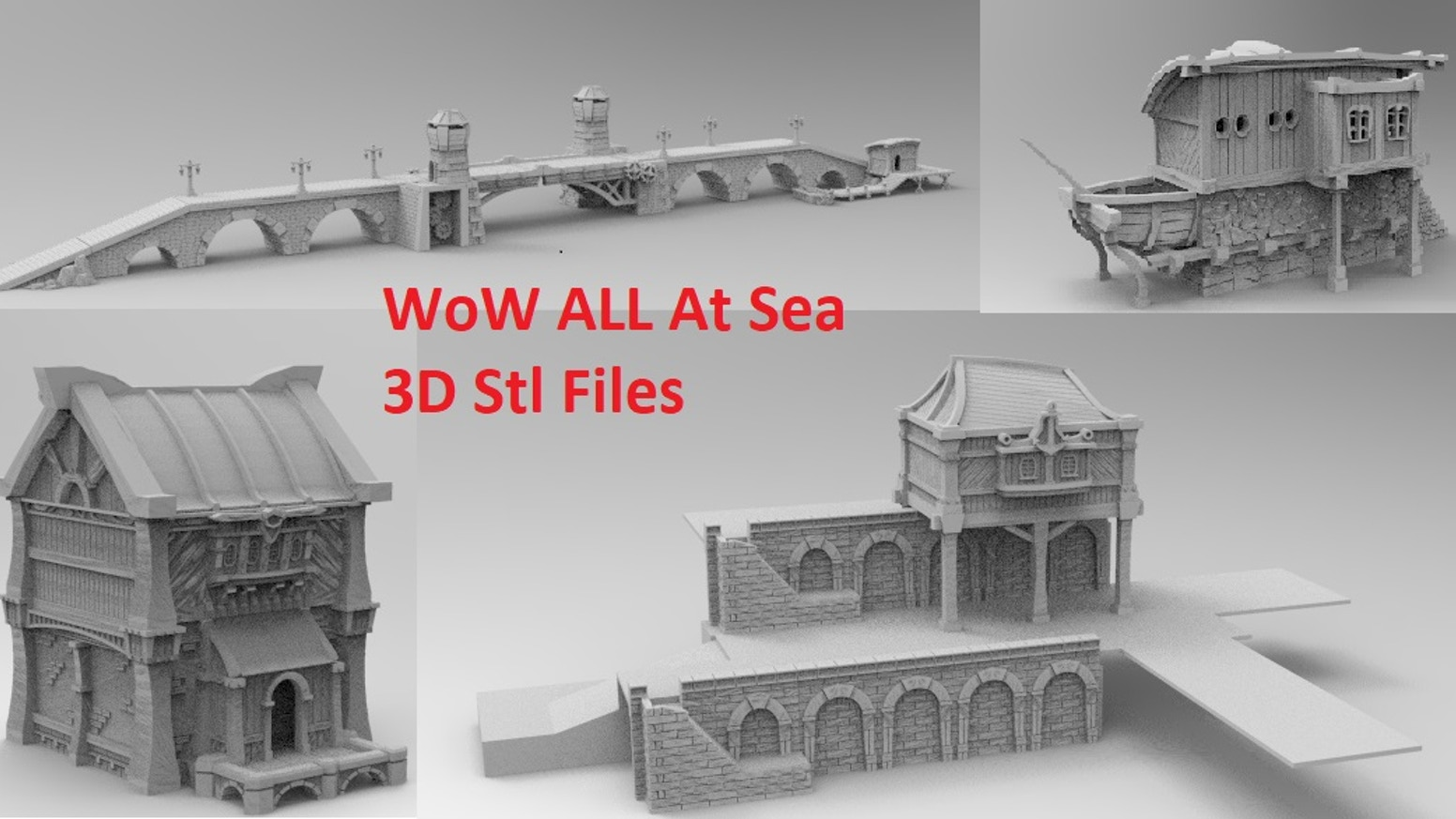 WOW All At Sea 3D Printable STL files