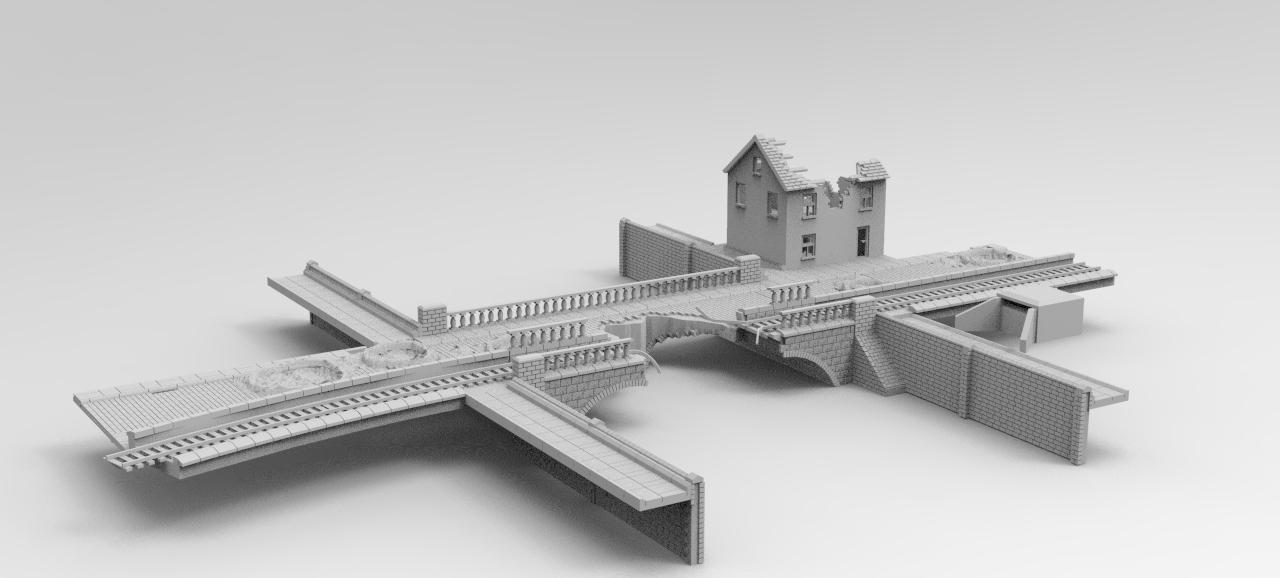 Attack the Bridge, Bridge