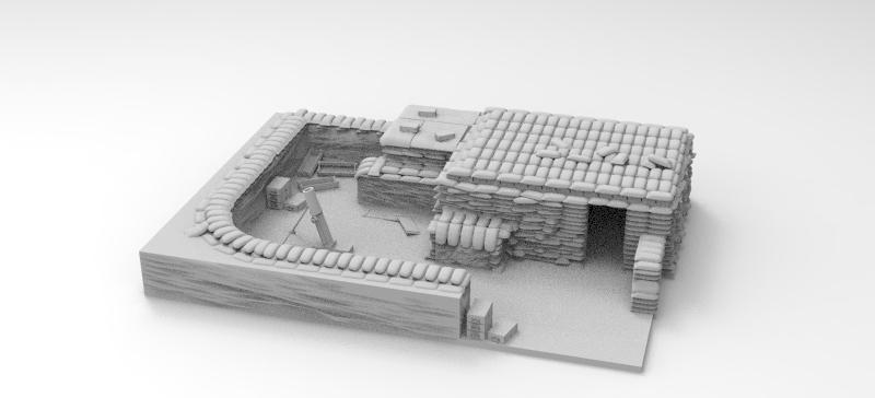 Vietnam Mortar Pit