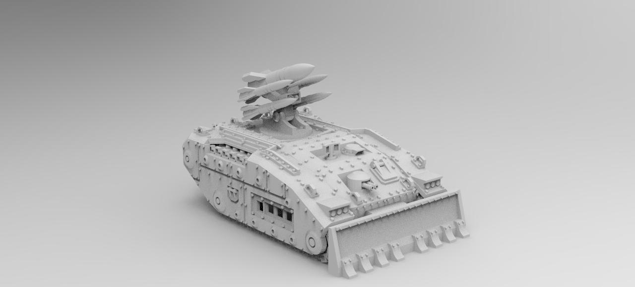 Raptor Missile Launcher Tank