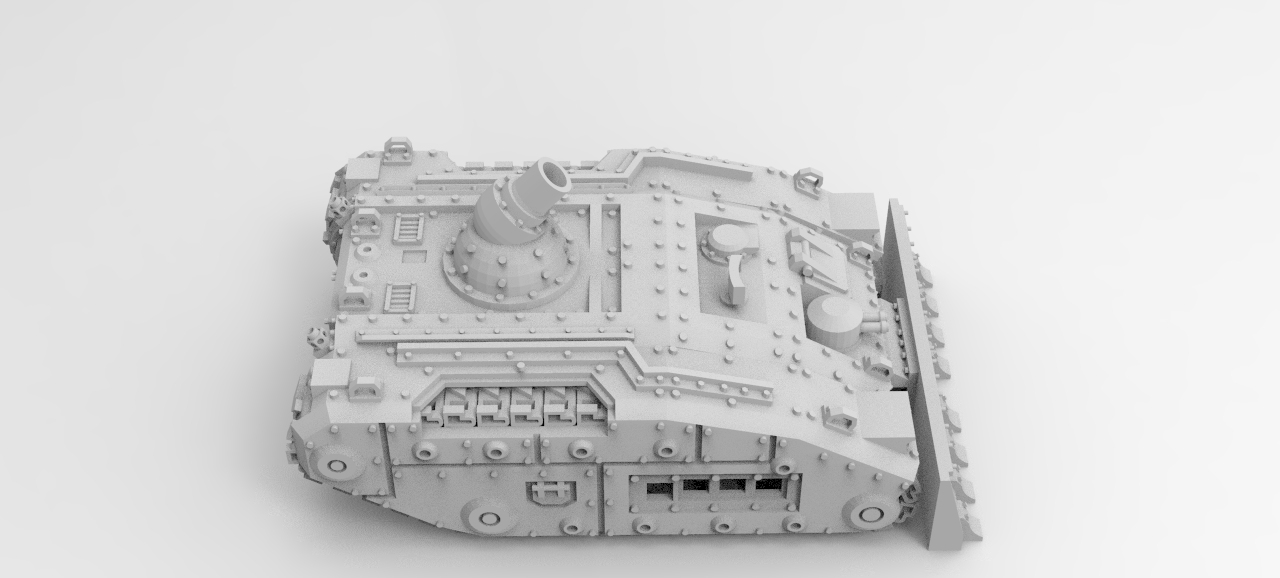 Raptor Mortar Tank