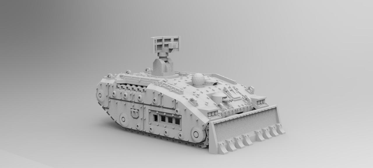 Raptor Radar Tank