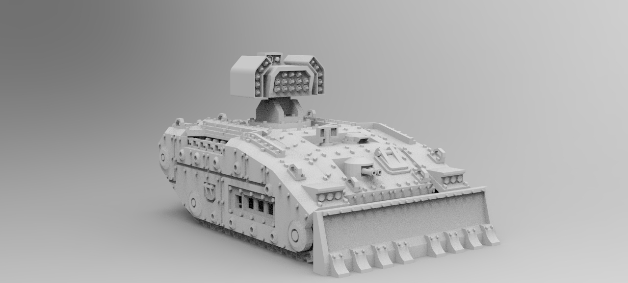 Raptor Rocket Launcher Tank
