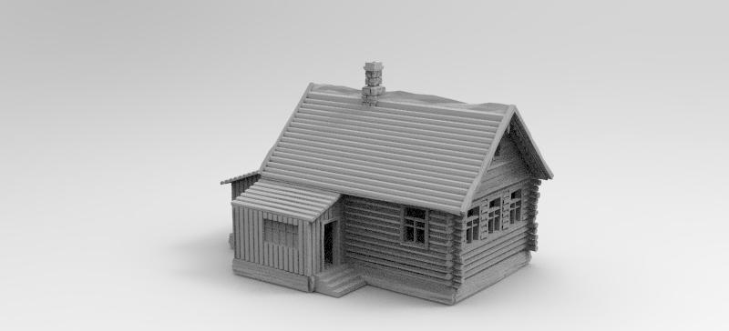 Pripyat Wooden House